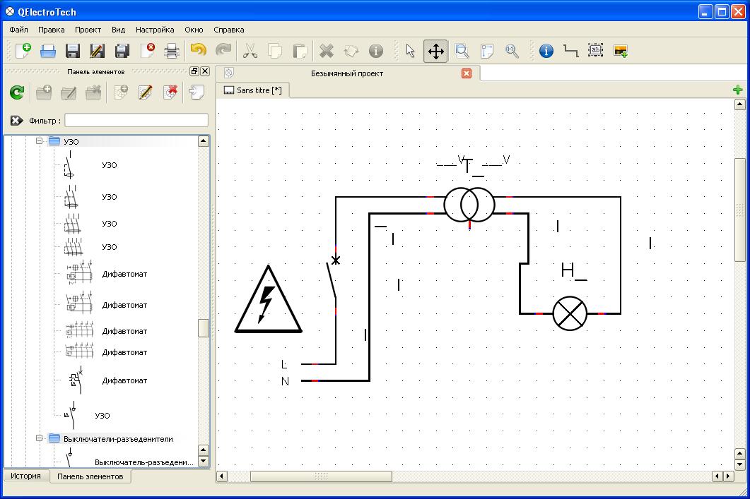 QelectroTech программа для
